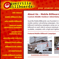 guerrillabillboards.com - web, startup, web application