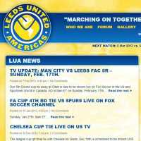 Leeds United Americas - web,nonprofit,non-profit,wordpress,e-commerce